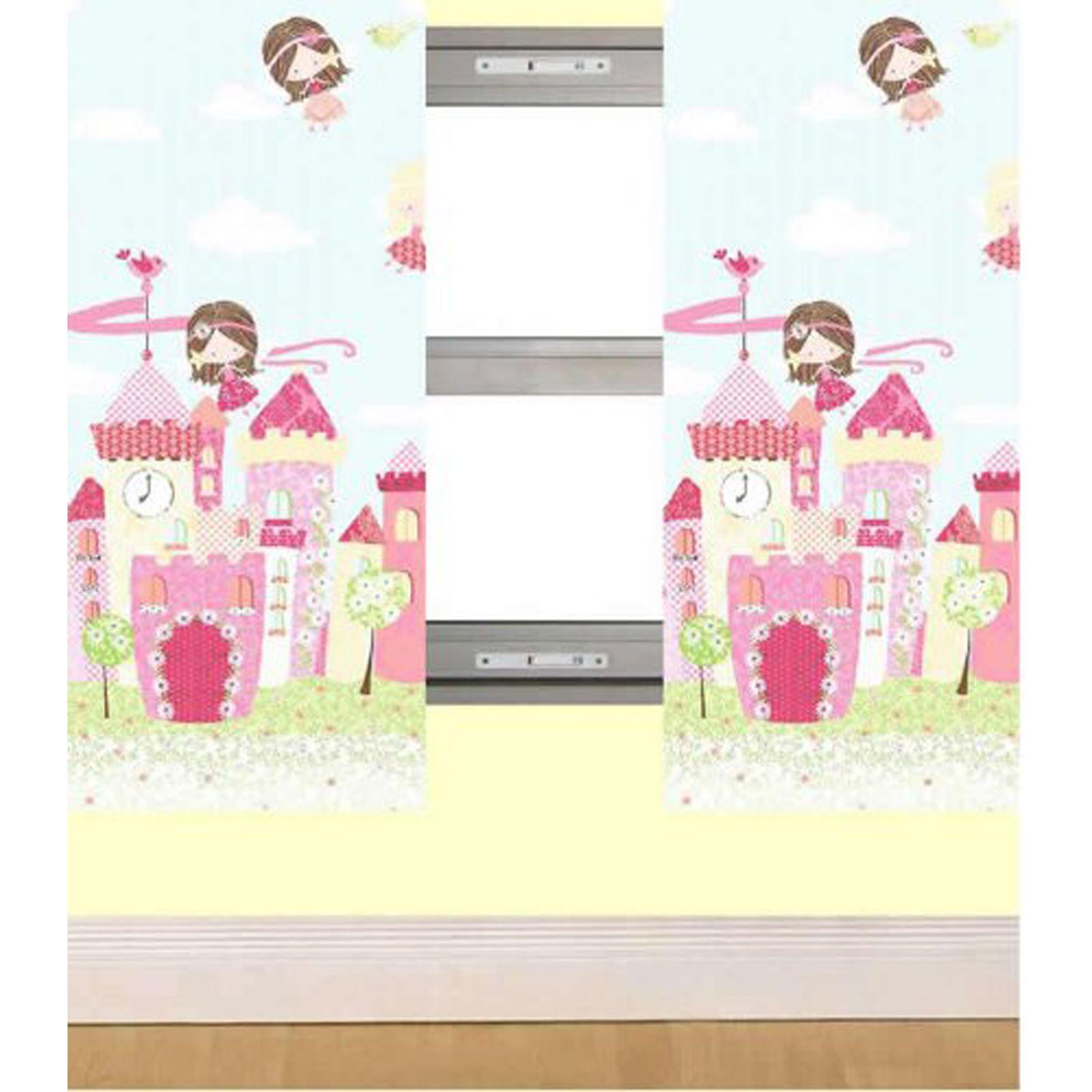 Mädchen Schlafzimmer Vorhänge 168cm X 183cm