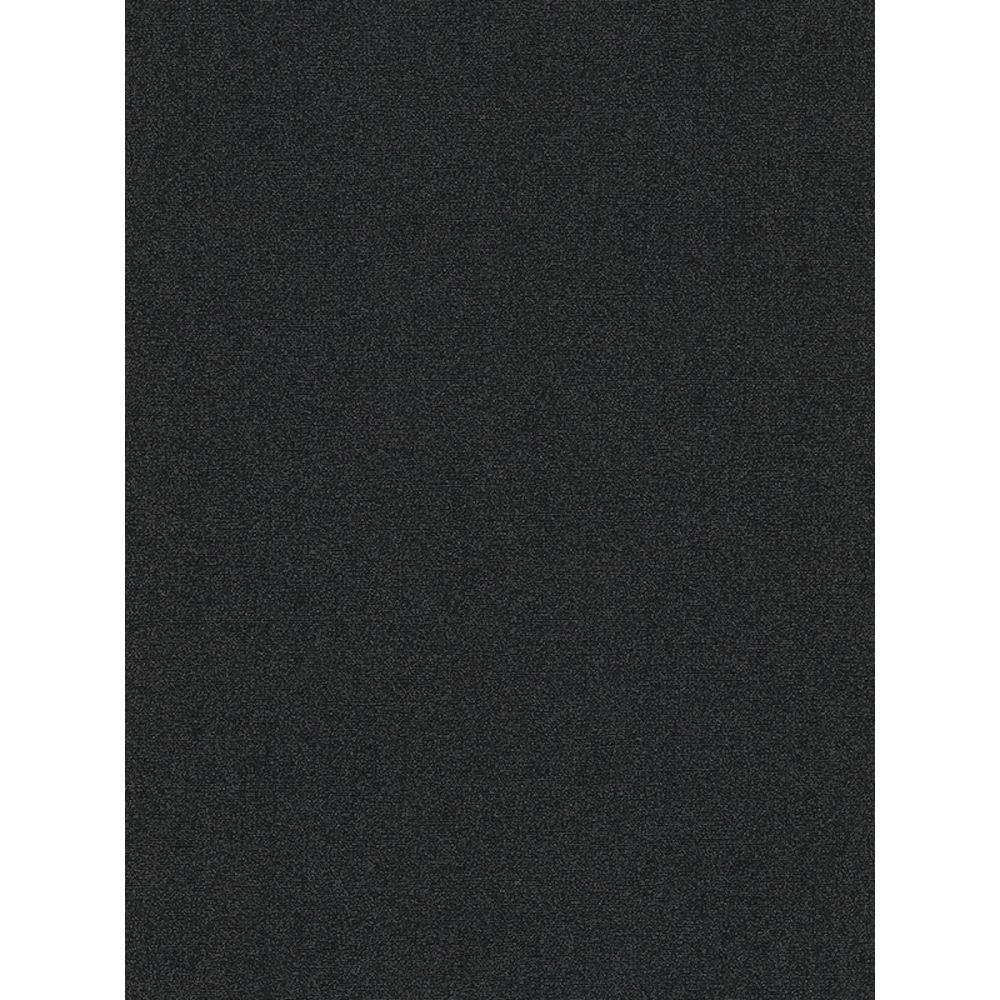 Noir Paillettes Fleur Papier Peint ERISMANN Soufflé Vinyle Texturé
