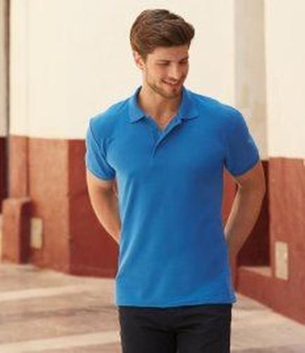 Fruit-Of-The-Loom-Polo-Shirt-T-Shirt-Tee-shirt-Mens-Short-Sleeve-Heavy-Polo