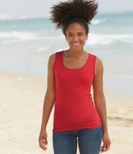 Fruit-Of-The-Loom-Vest-Ladies-Womens-Tank-Top-Gym-Training-T-Shirt-Tee-shirt-New