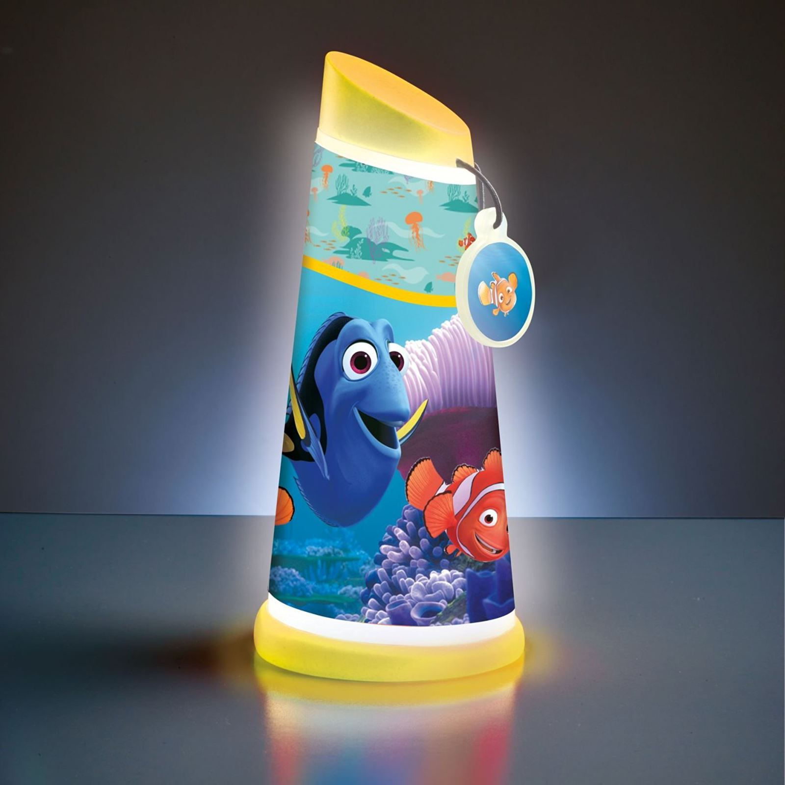DISNEY-GO-GLOW-NUIT-POUTRE-INCLINAISON-LAMPE-DE-POCHE-NEUF-ECLAIRAGE-CLAIR