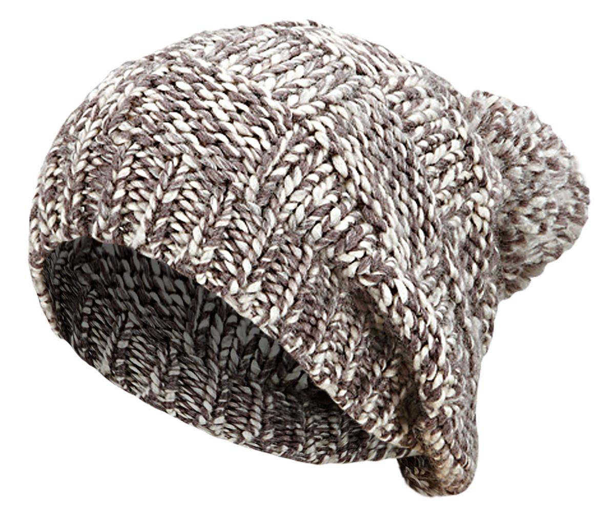 femme homme hiver bonnet long tricot avec pompon d 39 hiver longue. Black Bedroom Furniture Sets. Home Design Ideas