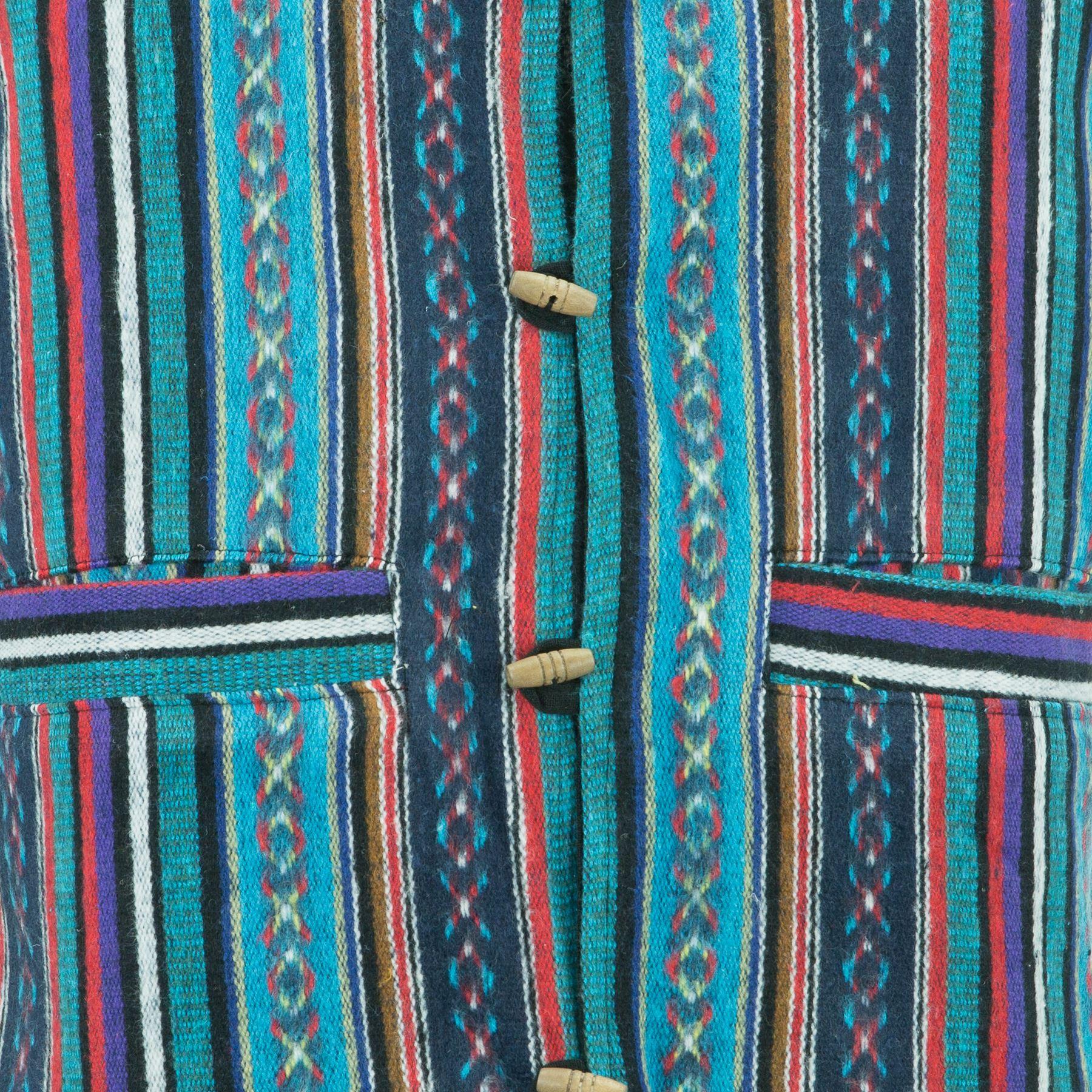 Chaleco-Algodon-Hombre-Perchado-Hippie-Boho-Traje-para-Hombre-Mujer miniatura 14