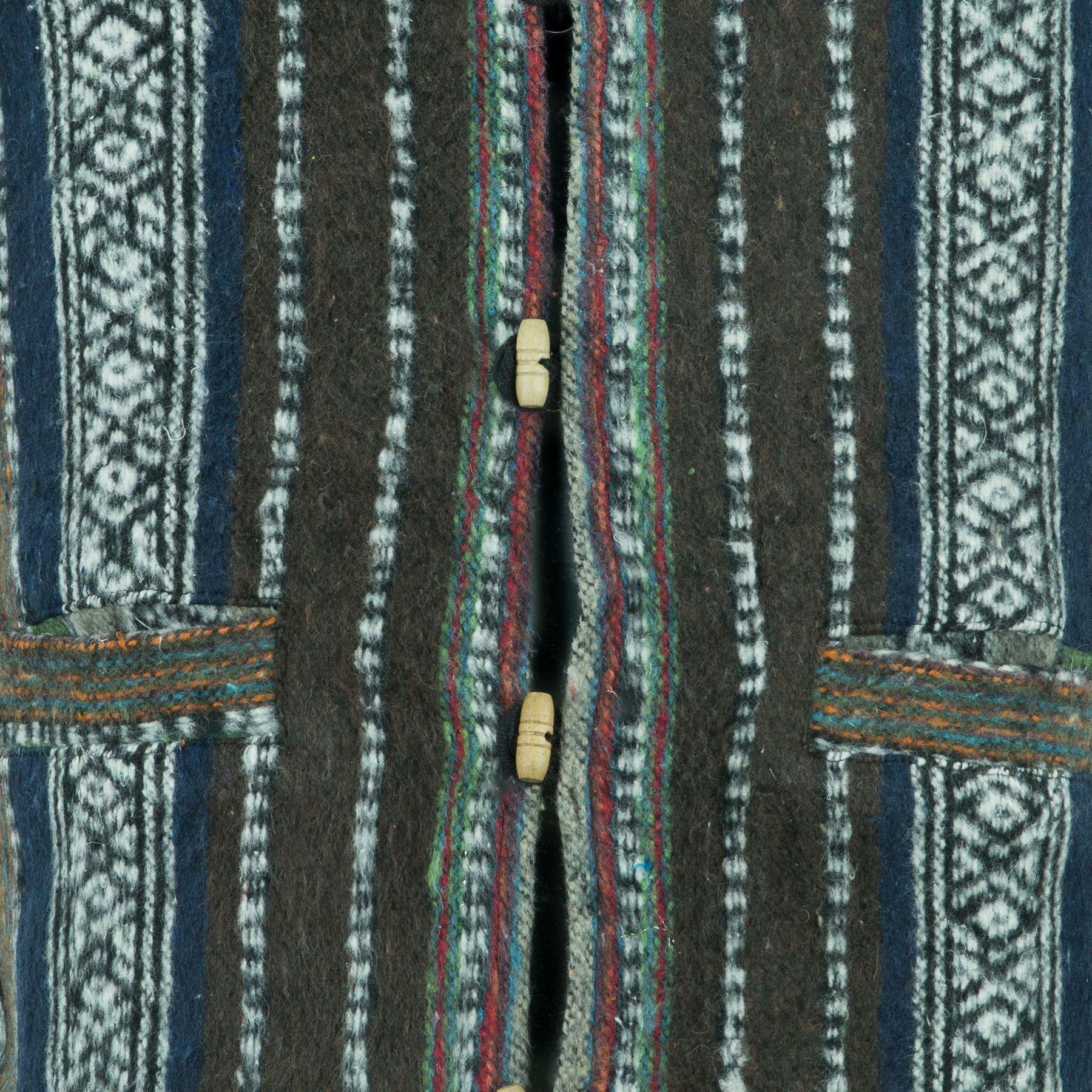 Chaleco-Algodon-Hombre-Perchado-Hippie-Boho-Traje-para-Hombre-Mujer miniatura 10