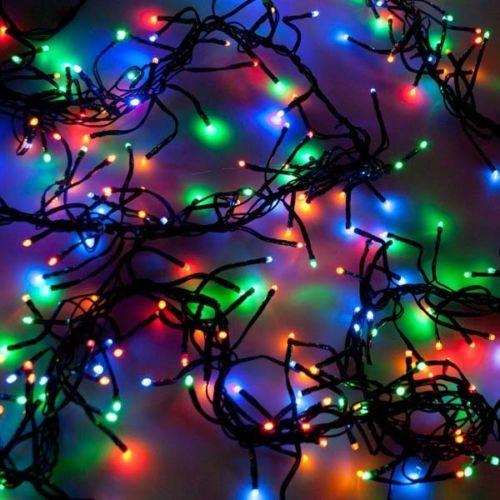 ... Extérieur Mariage De Noël Jardin Fête Décoration Lumières  eBay