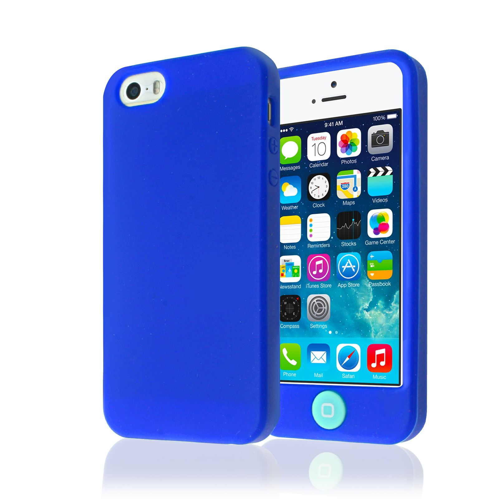 how big is iphone 5s soft plain silicone with big buttons back guard cover 17022