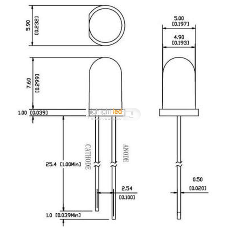 LED-3mm-oder-5mm-blinkend-blinkende-LEDs-3-mm-oder-5mm-Leuchtdioden-flashing Indexbild 60