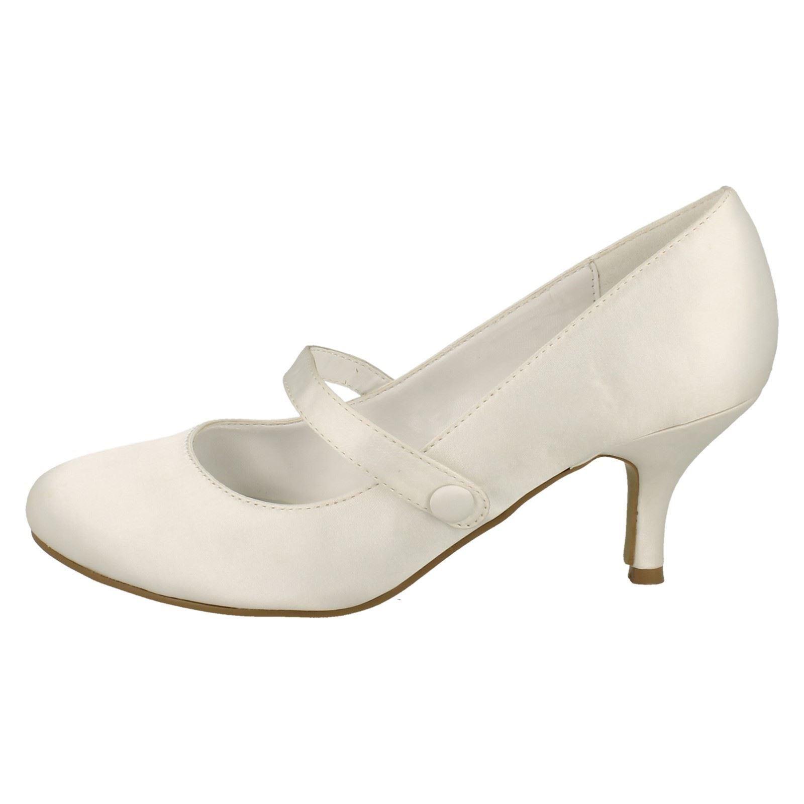 Donna-Anne-Michelle-Tacco-Basso-Scarpe-da-Matrimonio