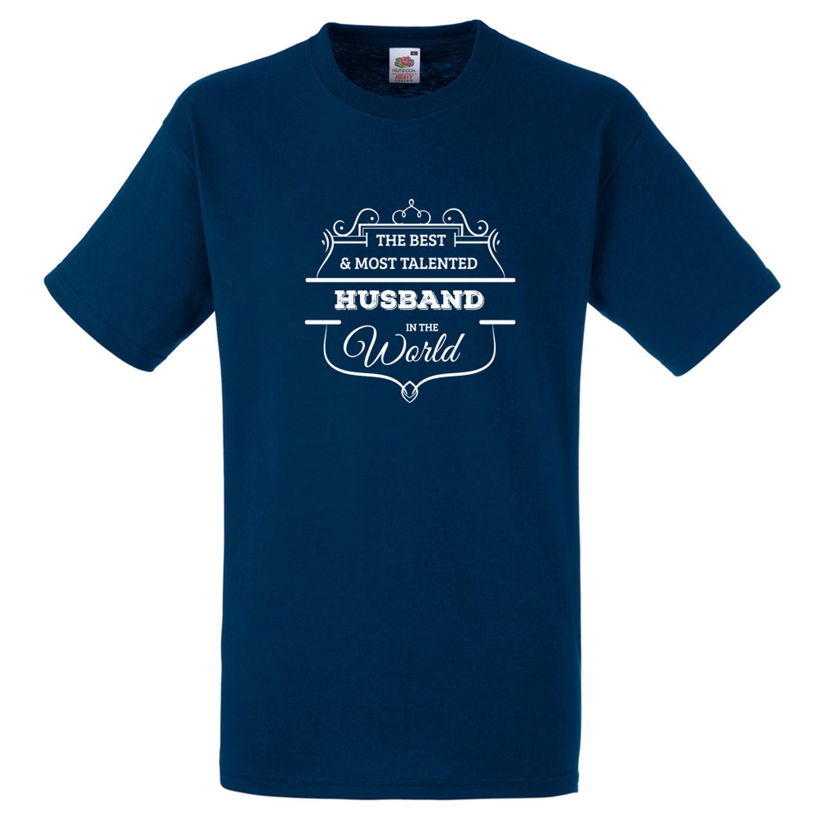 mejor-y-mas-TALENTO-marido-en-la-palabra-Camiseta-Diversion-Regalo