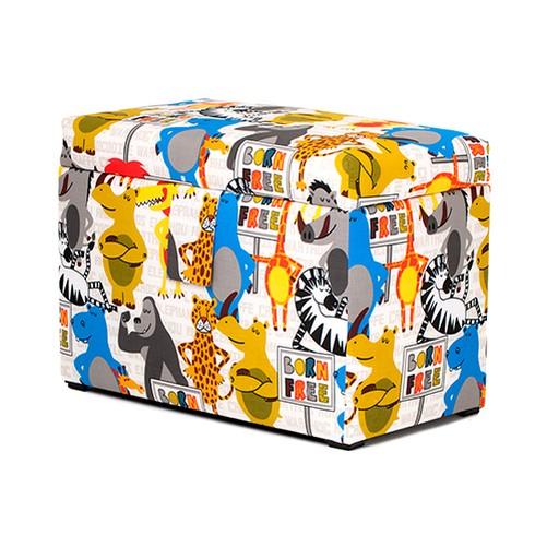 kinder gro bezogene holz spielzeug truhe box weich schlie en deckel gepolstert ebay. Black Bedroom Furniture Sets. Home Design Ideas