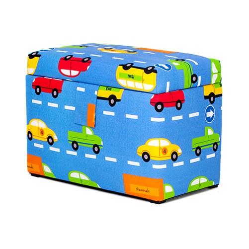 Kinder groß bezogene holz spielzeug truhe box weich