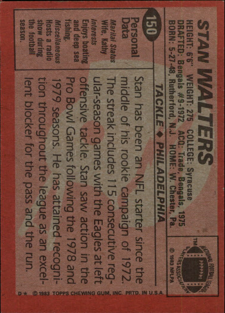 1983-Topps-Football-Card-Pick-147-396 thumbnail 7