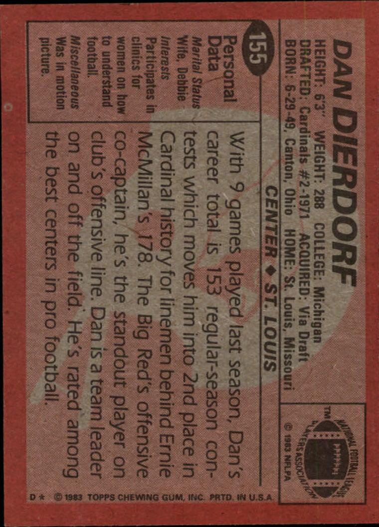 1983-Topps-Football-Card-Pick-147-396 thumbnail 15