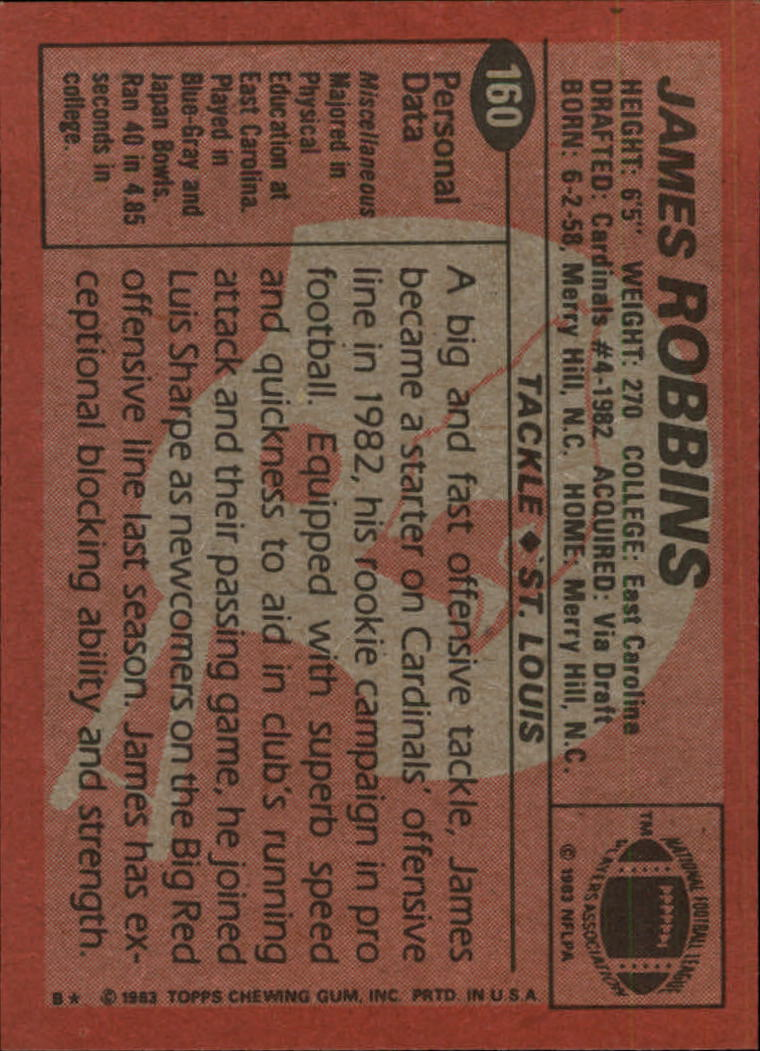 1983-Topps-Football-Card-Pick-147-396 thumbnail 25