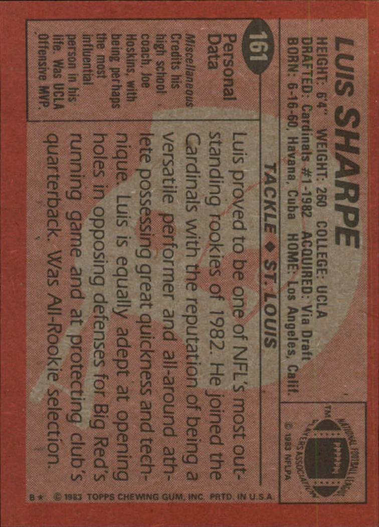 1983-Topps-Football-Card-Pick-147-396 thumbnail 27