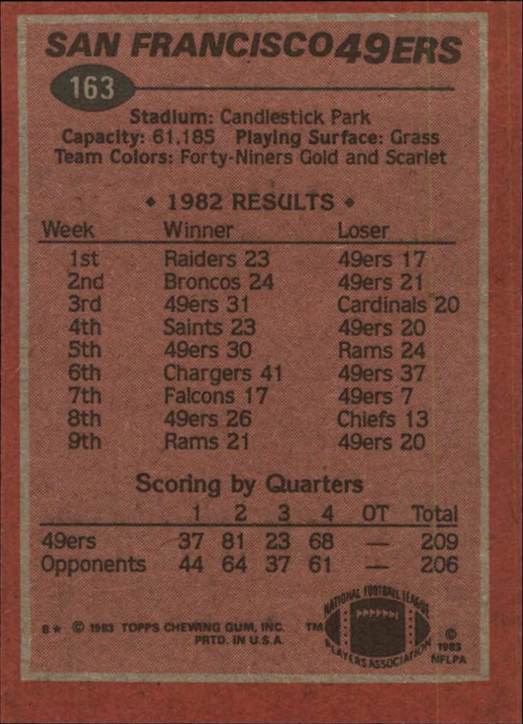 1983-Topps-Football-Card-Pick-147-396 thumbnail 31