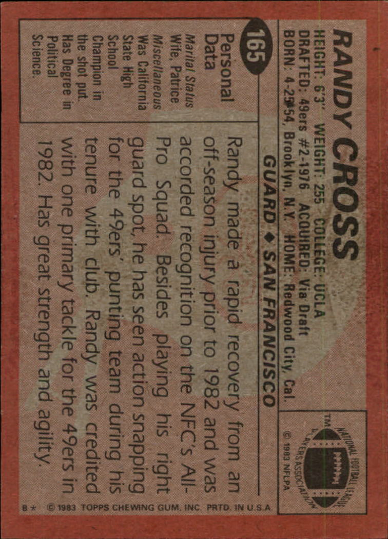 1983-Topps-Football-Card-Pick-147-396 thumbnail 35