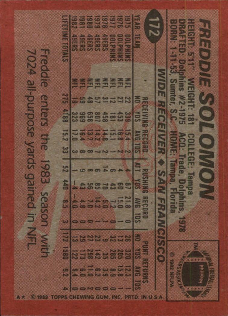 1983-Topps-Football-Card-Pick-147-396 thumbnail 43