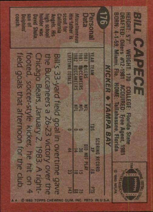 1983-Topps-Football-Card-Pick-147-396 thumbnail 49