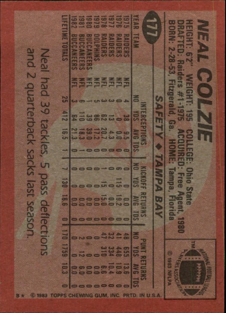 1983-Topps-Football-Card-Pick-147-396 thumbnail 51