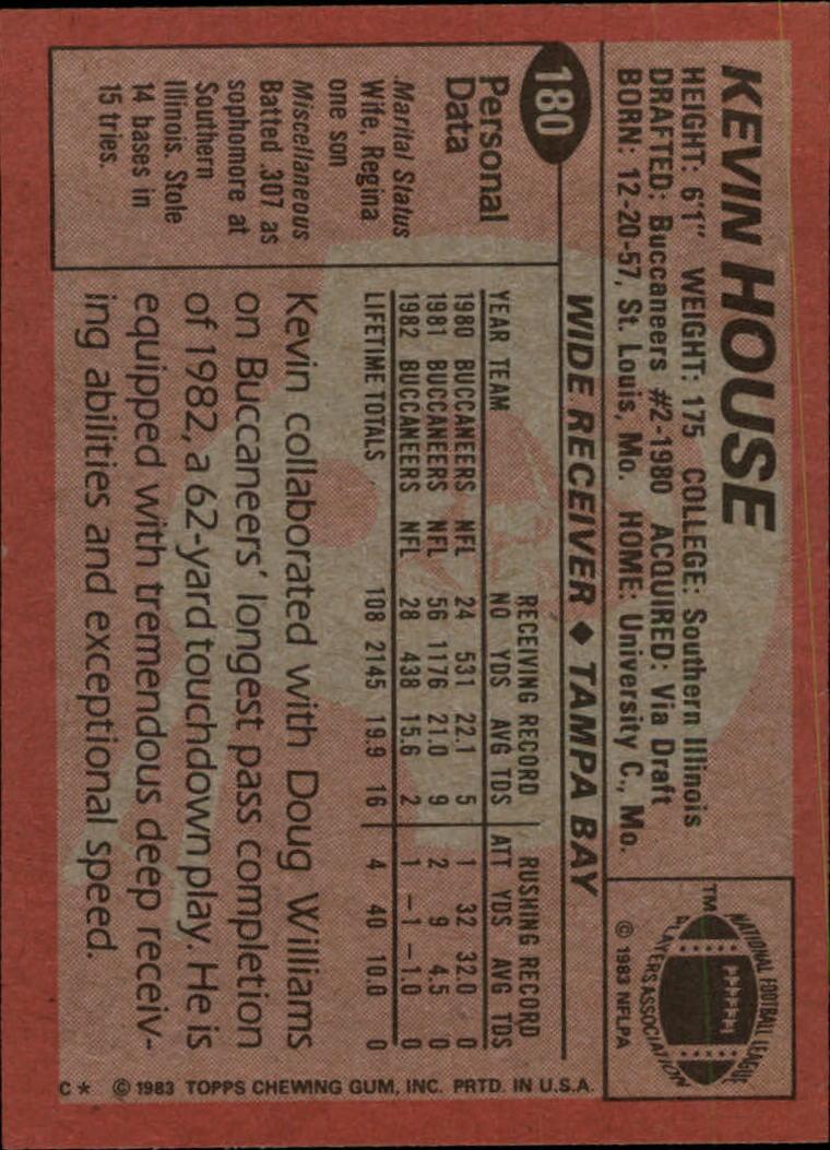 1983-Topps-Football-Card-Pick-147-396 thumbnail 57
