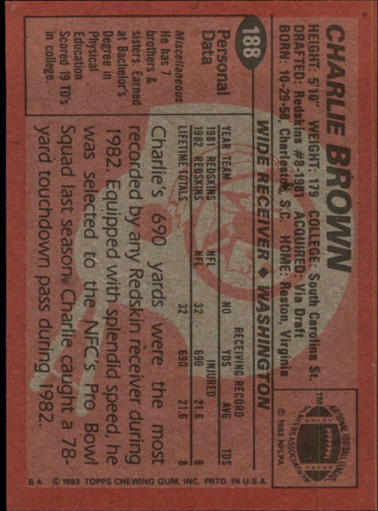 1983-Topps-Football-Card-Pick-147-396 thumbnail 67