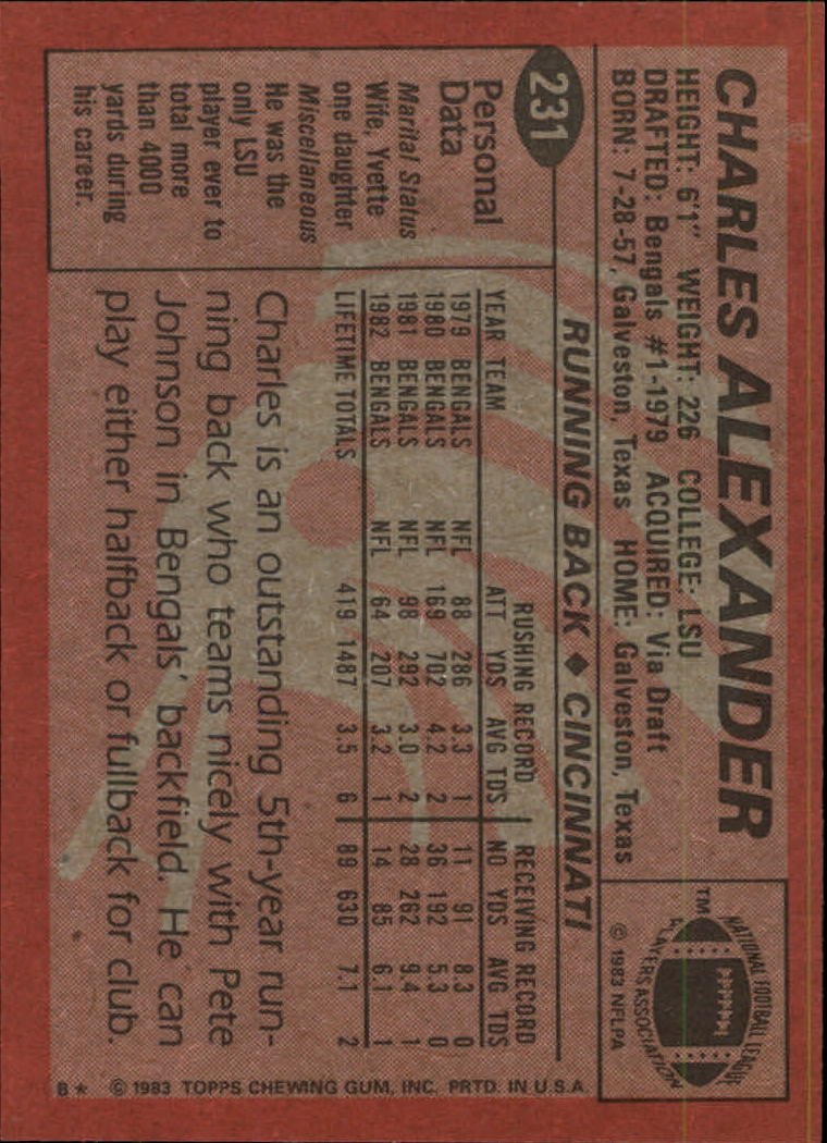 1983-Topps-Football-Card-Pick-147-396 thumbnail 119