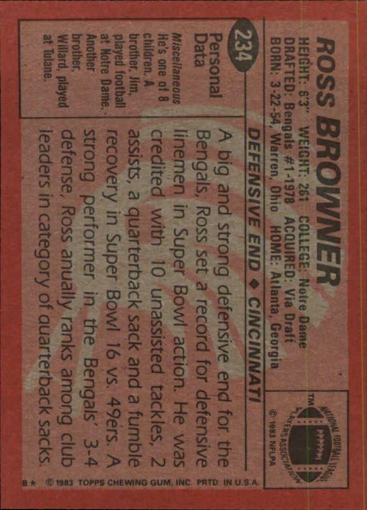 1983-Topps-Football-Card-Pick-147-396 thumbnail 121