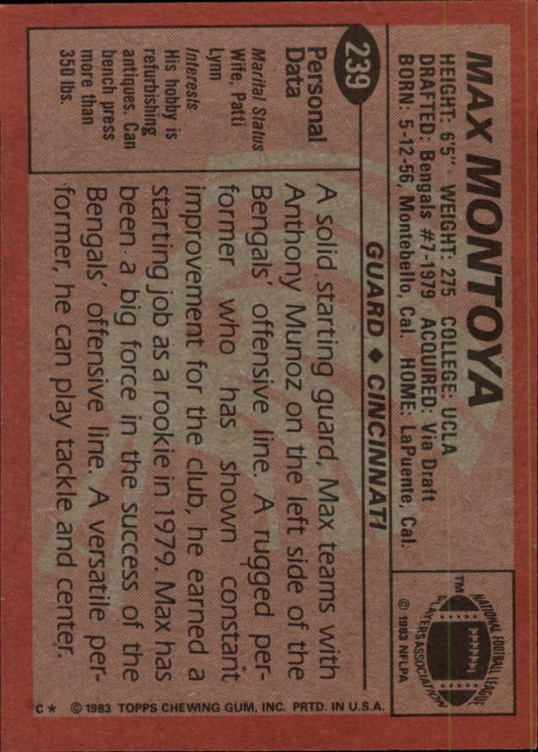 1983-Topps-Football-Card-Pick-147-396 thumbnail 127