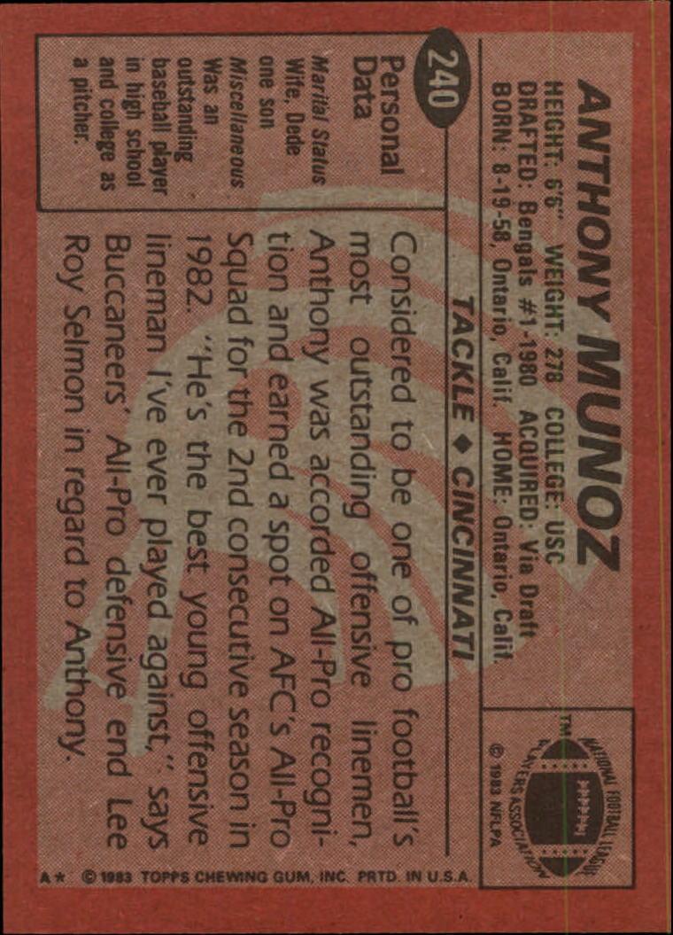 1983-Topps-Football-Card-Pick-147-396 thumbnail 129
