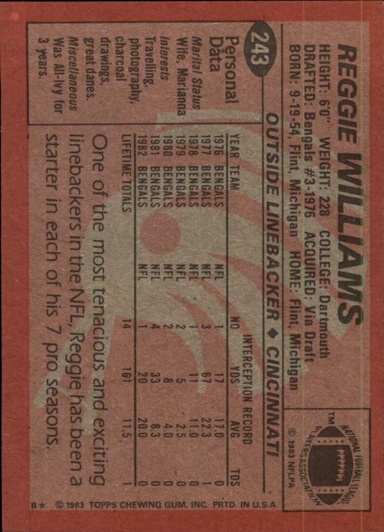 1983-Topps-Football-Card-Pick-147-396 thumbnail 133