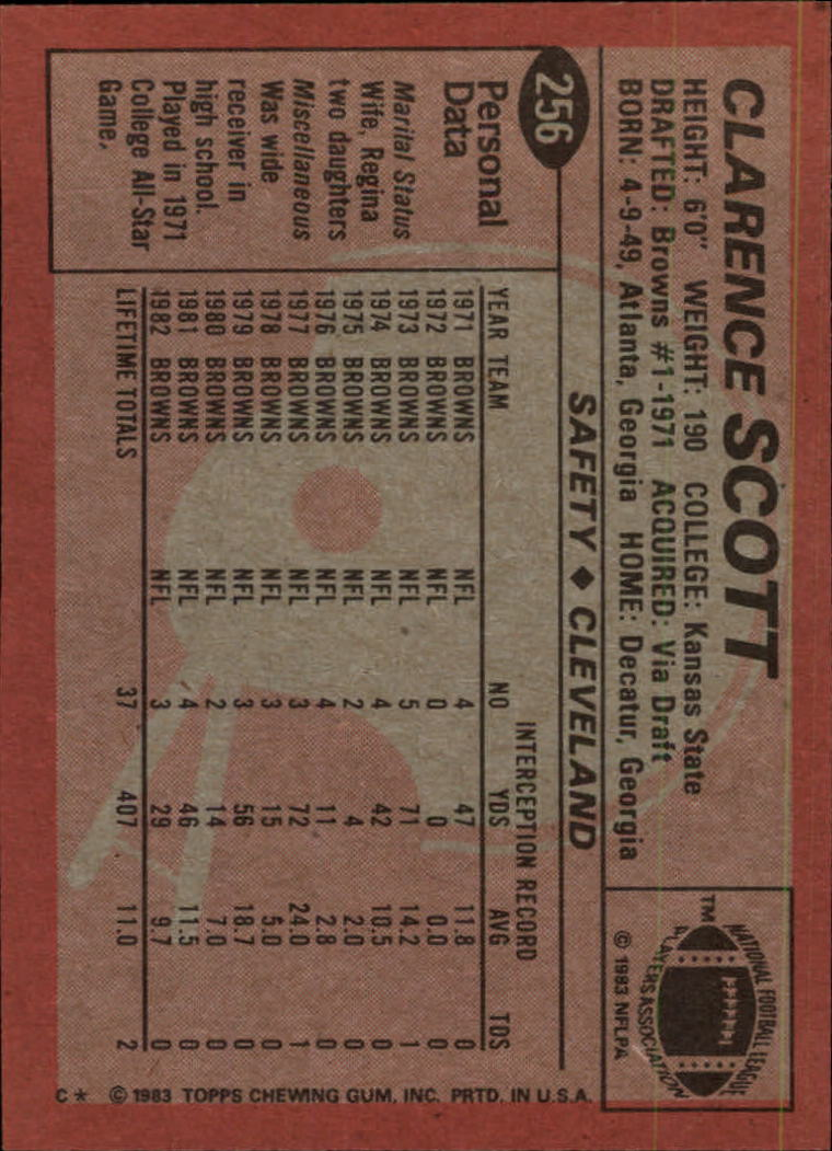 1983-Topps-Football-Card-Pick-147-396 thumbnail 145