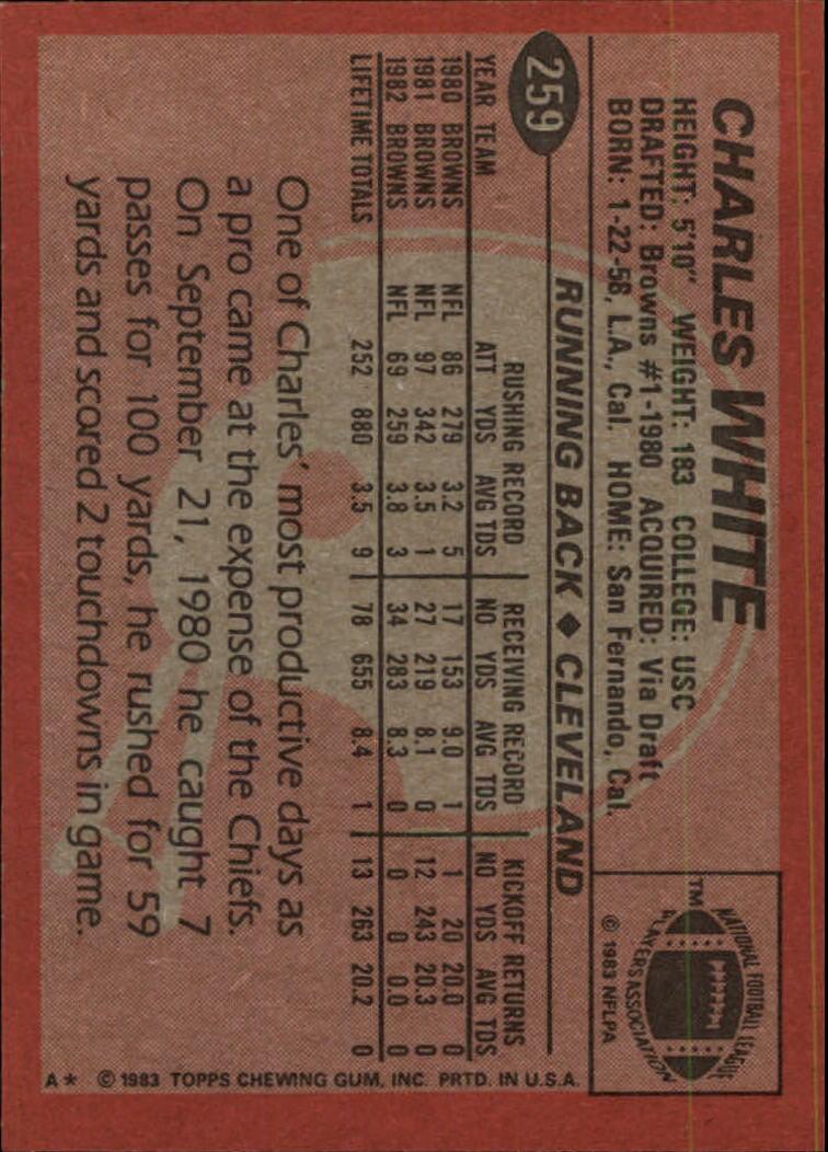 1983-Topps-Football-Card-Pick-147-396 thumbnail 149
