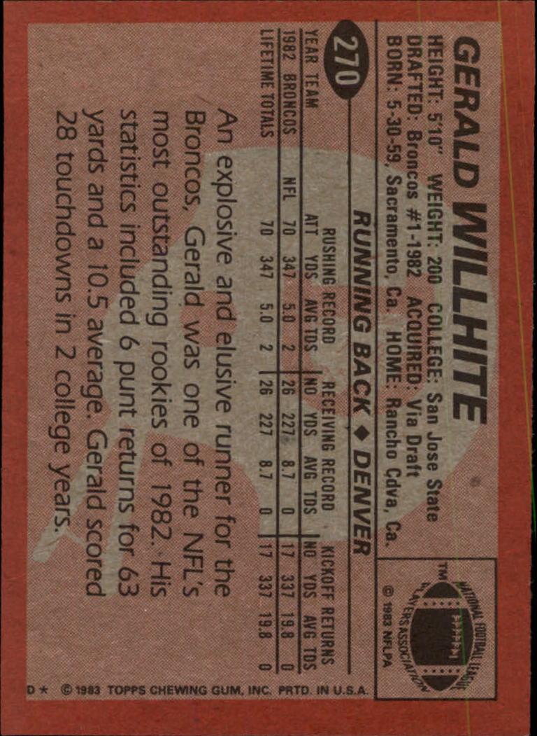 1983-Topps-Football-Card-Pick-147-396 thumbnail 153