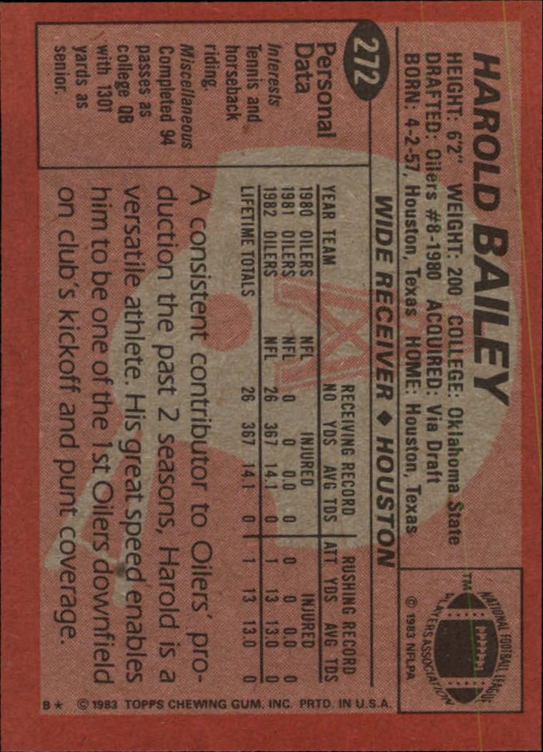 1983-Topps-Football-Card-Pick-147-396 thumbnail 157