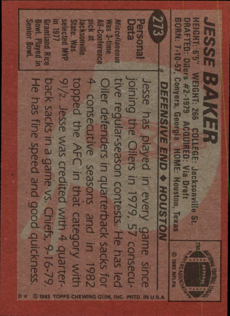 1983-Topps-Football-Card-Pick-147-396 thumbnail 159