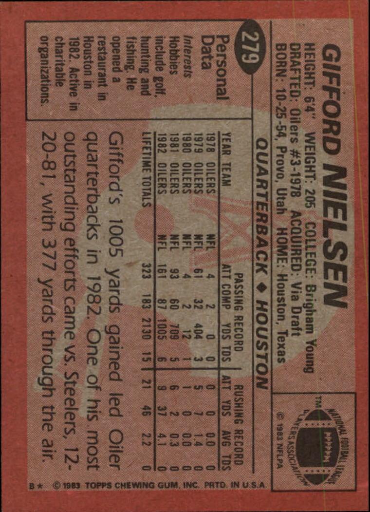 1983-Topps-Football-Card-Pick-147-396 thumbnail 163