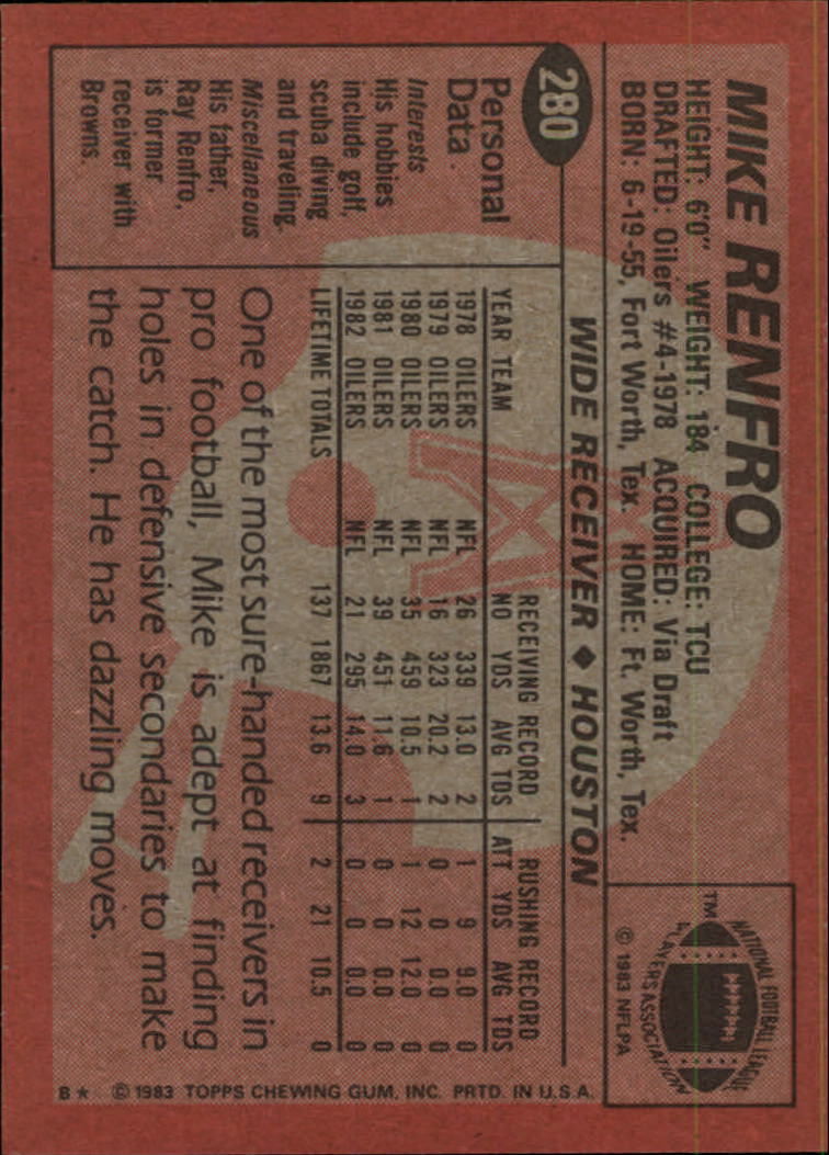 1983-Topps-Football-Card-Pick-147-396 thumbnail 165