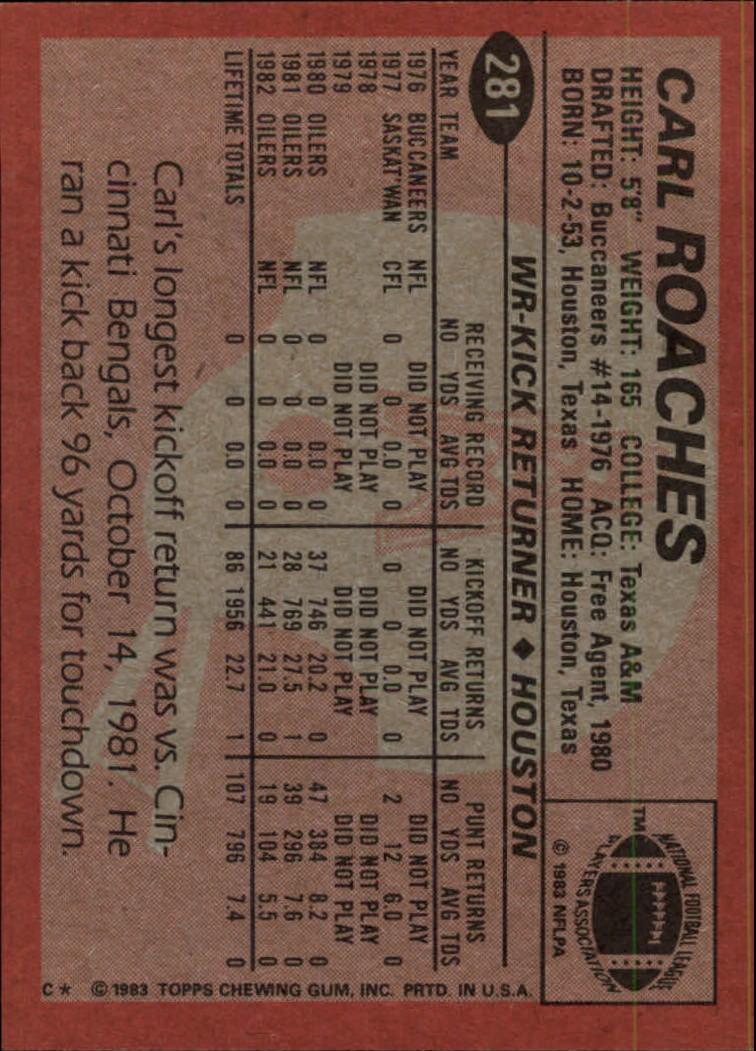 1983-Topps-Football-Card-Pick-147-396 thumbnail 167
