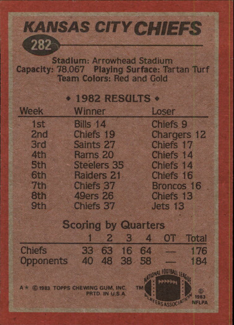 1983-Topps-Football-Card-Pick-147-396 thumbnail 169
