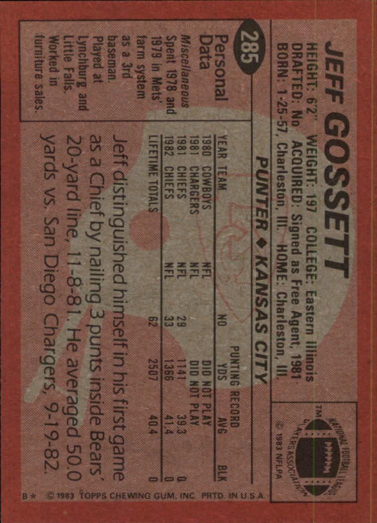 1983-Topps-Football-Card-Pick-147-396 thumbnail 173