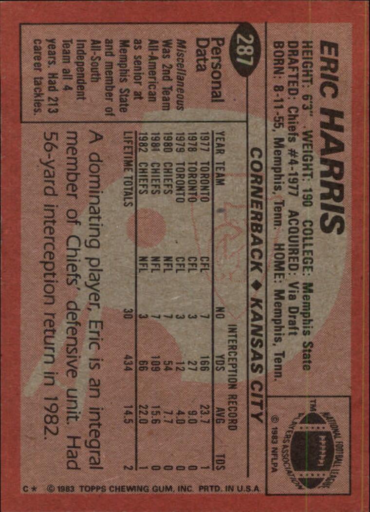 1983-Topps-Football-Card-Pick-147-396 thumbnail 177