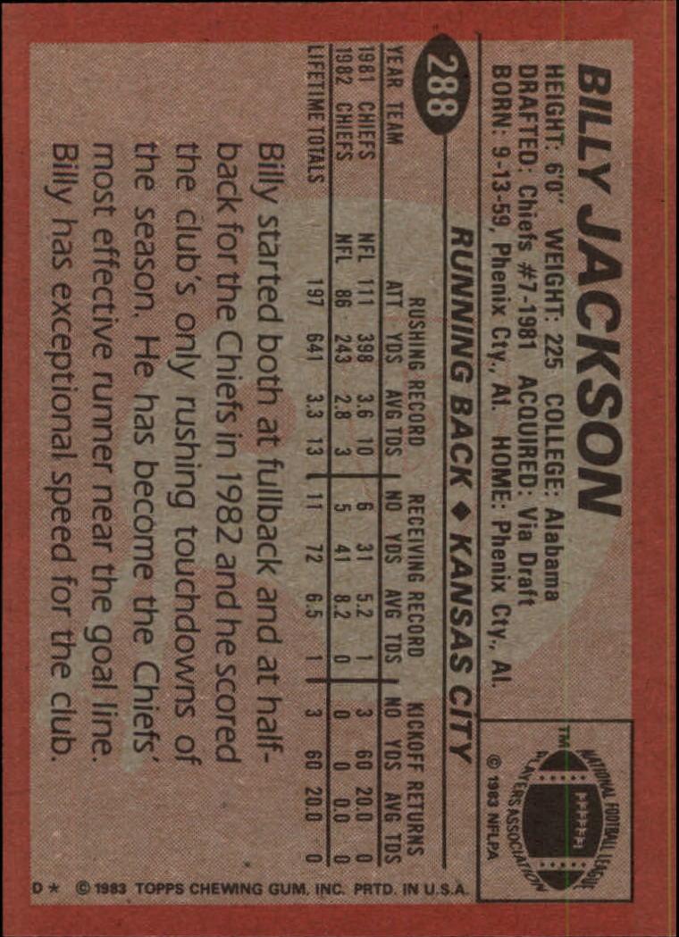 1983-Topps-Football-Card-Pick-147-396 thumbnail 179