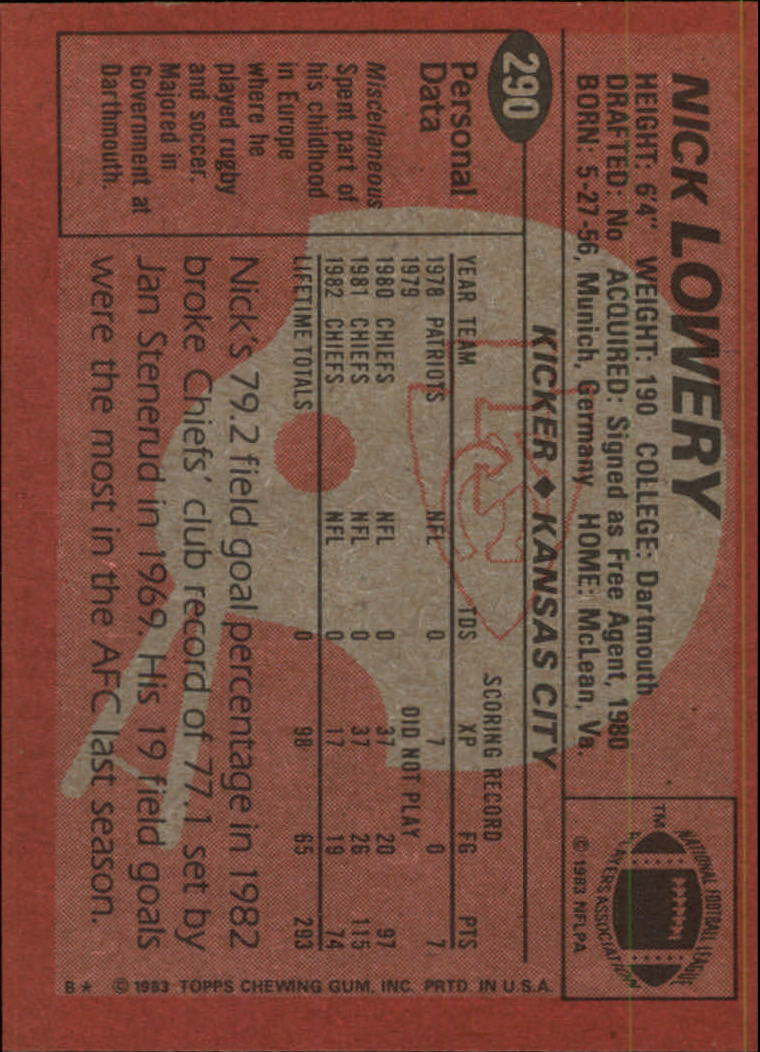 1983-Topps-Football-Card-Pick-147-396 thumbnail 183
