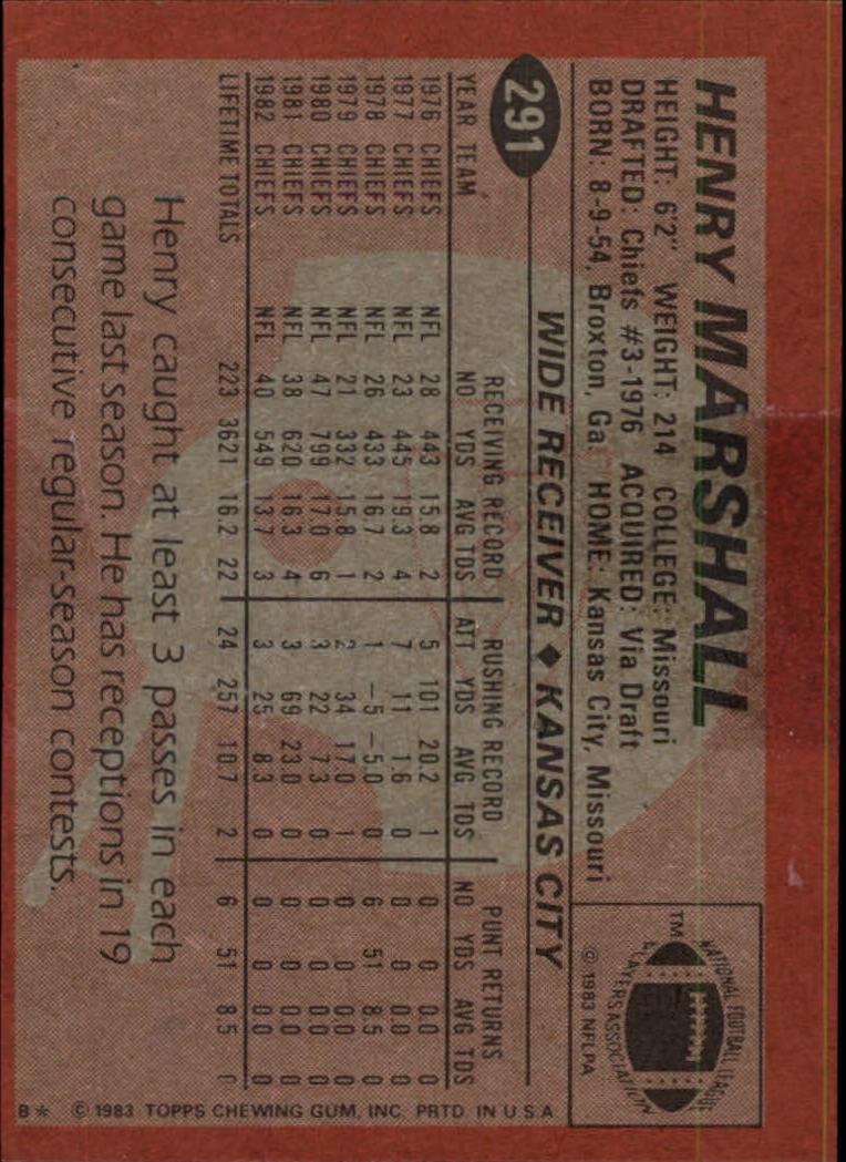 1983-Topps-Football-Card-Pick-147-396 thumbnail 185