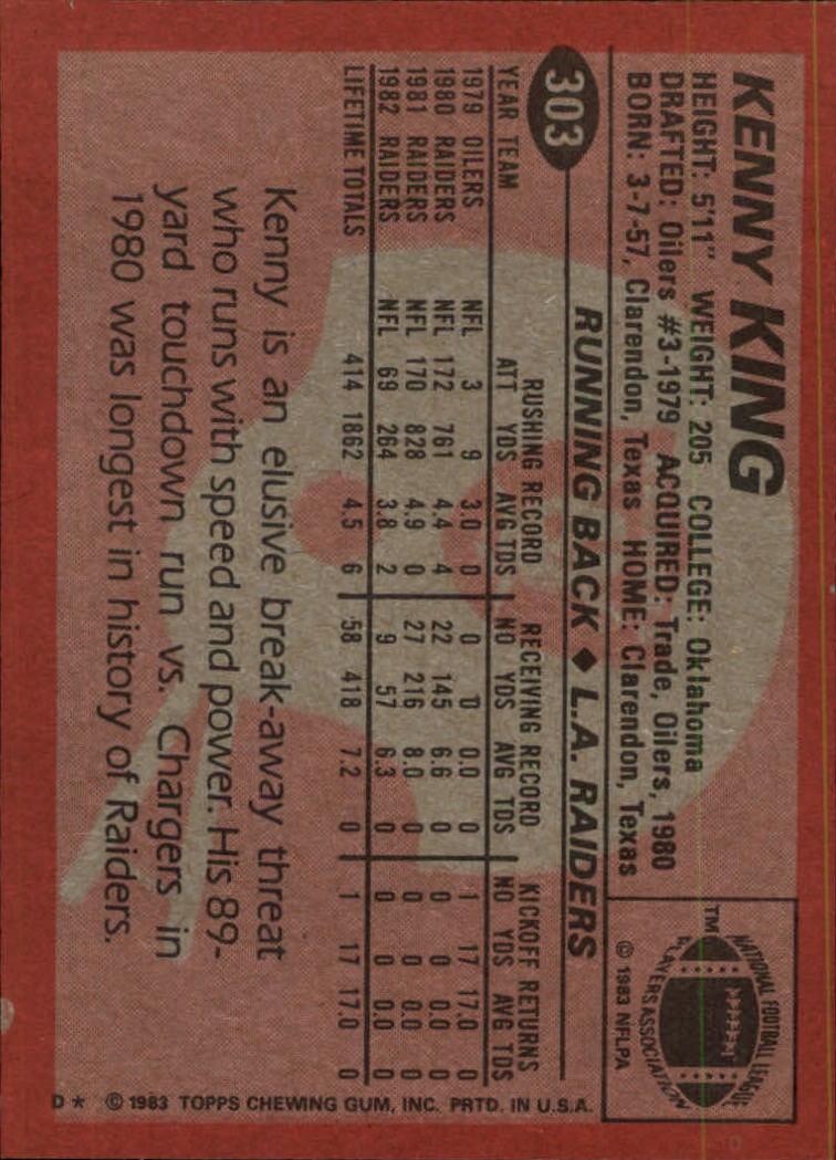 1983-Topps-Football-Card-Pick-147-396 thumbnail 197