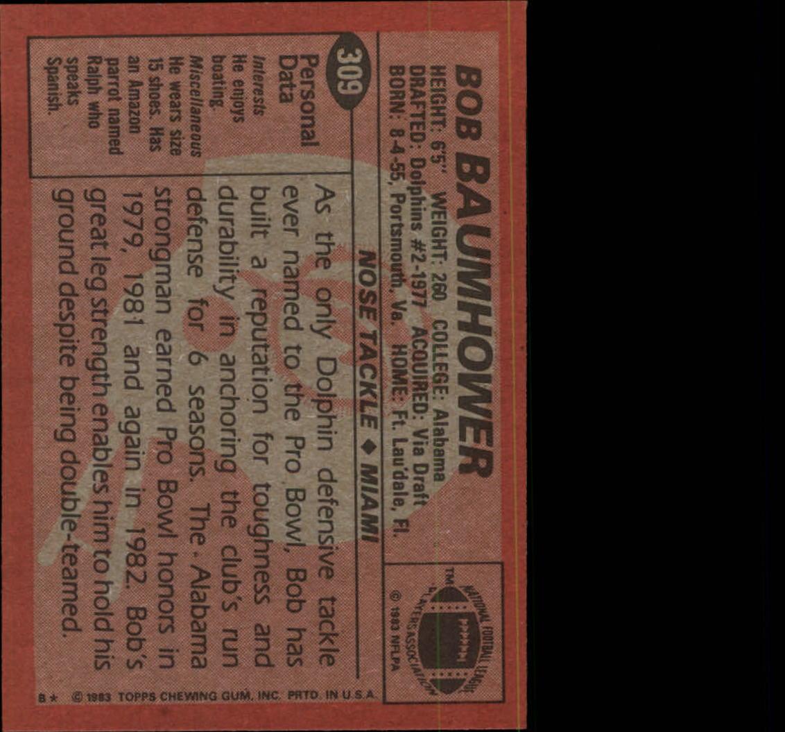 1983-Topps-Football-Card-Pick-147-396 thumbnail 209