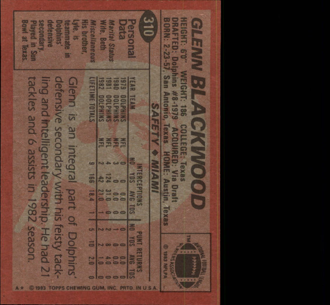 1983-Topps-Football-Card-Pick-147-396 thumbnail 211