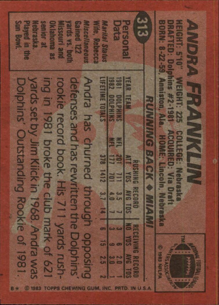 1983-Topps-Football-Card-Pick-147-396 thumbnail 215