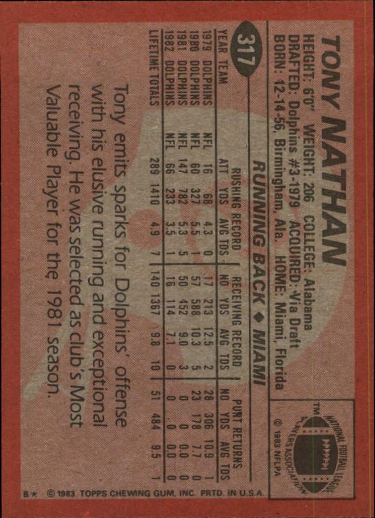 1983-Topps-Football-Card-Pick-147-396 thumbnail 223